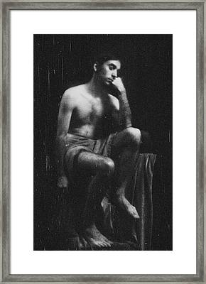 Self Study Viii Framed Print by Marcio Faustino