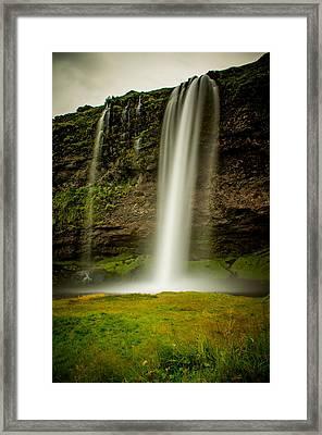 Seljalandsfoss Iceland Framed Print by Mirra Photography