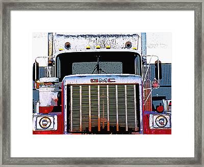 Semi Close-up 1 Framed Print by Steve Ohlsen