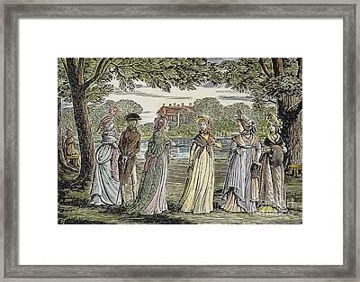 Sense & Sensibility, 1811 Framed Print by Granger