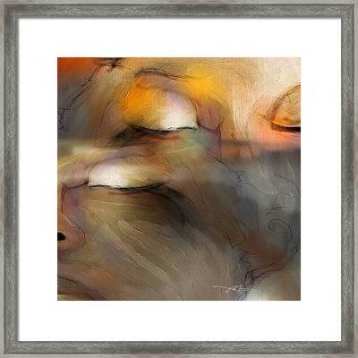 Senses Framed Print by Bob Salo