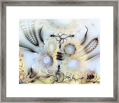 Sensorial Paroxysm Framed Print by Casey Kotas
