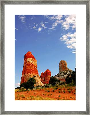 Sensuous Sandstone Framed Print by Christine Till