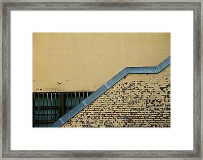 Separation Framed Print by Odd Jeppesen