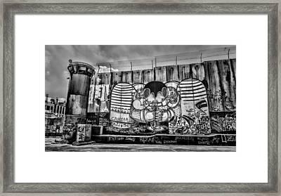 Separation Framed Print by Stephen Stookey