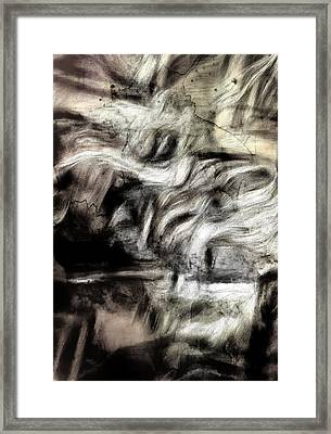 Sepia Abstract  Framed Print by Tom Gowanlock