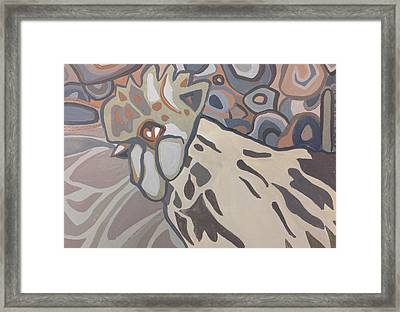 Serene Framed Print by Judi Russell