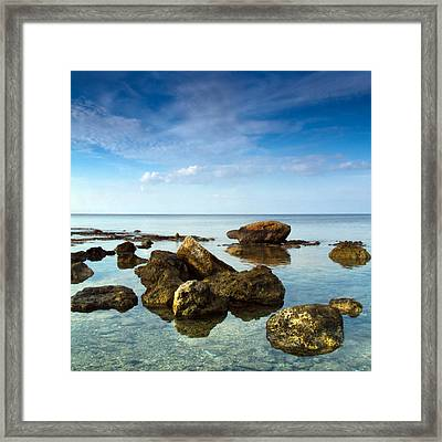Serene Framed Print by Stelios Kleanthous