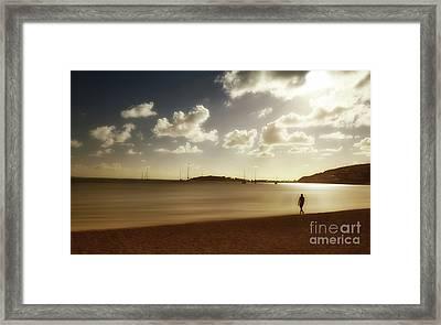 Serenity Framed Print by Arnie Goldstein