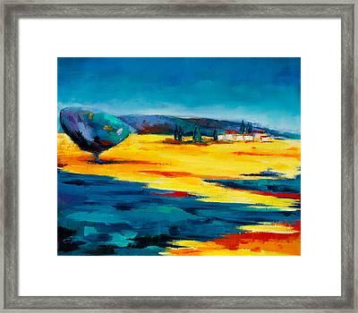 Serenity Framed Print by Elise Palmigiani