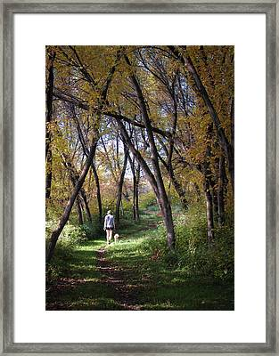 Serenity Framed Print by George Hausler
