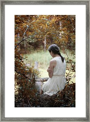 Serenity I Framed Print by Cambion Art