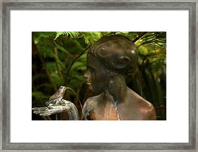 Serenity II Framed Print by Gary Gunderson