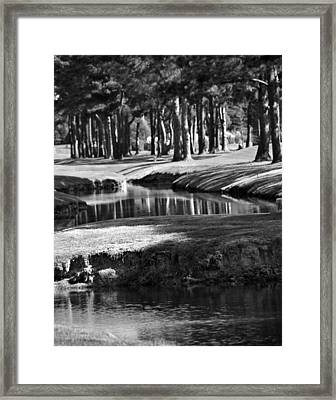 Serenity - It Is Autumn Framed Print by Gerlinde Keating - Galleria GK Keating Associates Inc