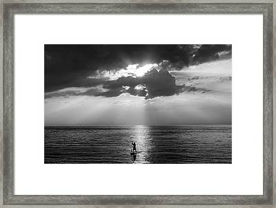 Serenity Framed Print by Peter Chilelli