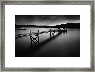 Serenity Framed Print by Thomas Schoeller