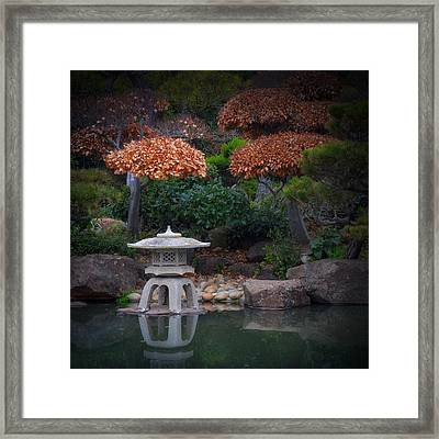 Serenity Two Framed Print by Laura Macky