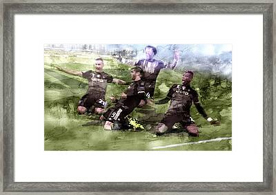 Serie A Winner Juventus 11 Framed Print by Jani Heinonen