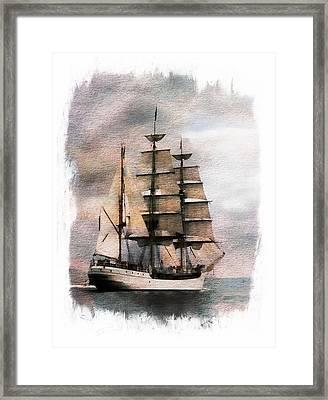 Set Sail Framed Print by Aaron Berg