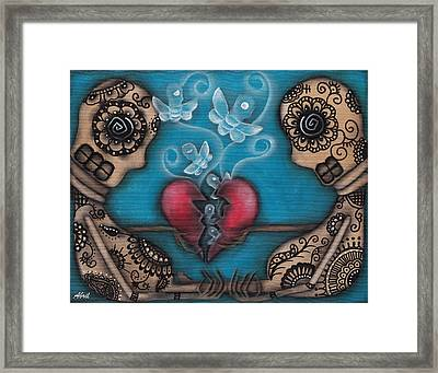 Set Them Free Framed Print by  Abril Andrade Griffith