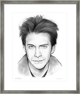 Seth Green Framed Print by Greg Joens