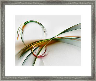 Seven Dreams - Fractal Art Framed Print by NirvanaBlues