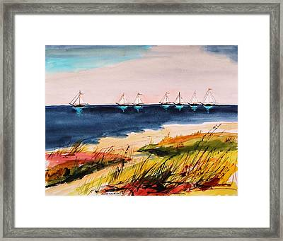 Seven Heading Out Framed Print by John Williams
