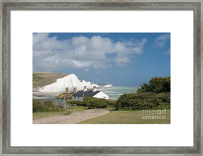 Seven Sisters Sussex Framed Print by Donald Davis