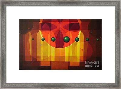 Seven Windows - 2 Framed Print by Alberto D-Assumpcao