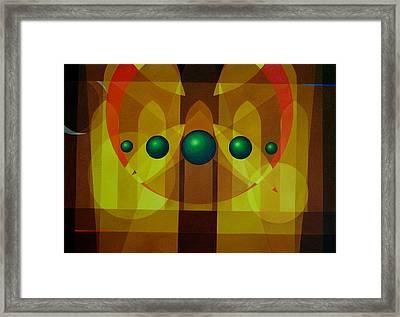Seven Windows - 3 Framed Print by Alberto D-Assumpcao
