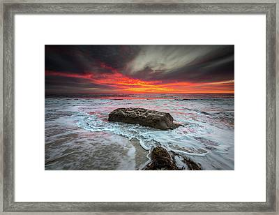Sex On Fire Framed Print by Peter Tellone