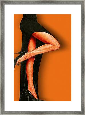 Sexy Pins Also Known As Legs 2 Framed Print by Tony Rubino