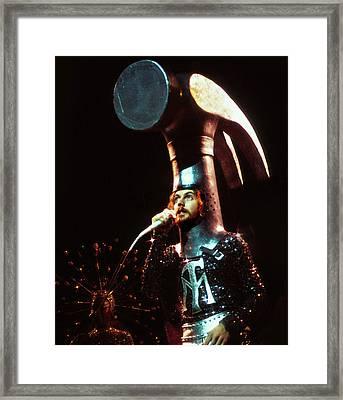 Sgt. Pepper's Hammermen Framed Print by Howard Dando