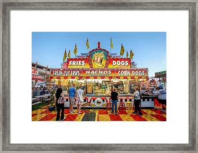 Eat Free Framed Print featuring the photograph Sgt. Pepper's Lonely Hearts Club Stand by Todd Klassy