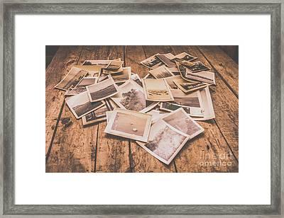Shabby Photography Love Framed Print by Jorgo Photography - Wall Art Gallery