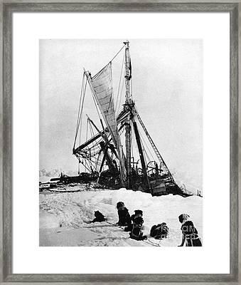 Shackletons Endurance Framed Print by Granger