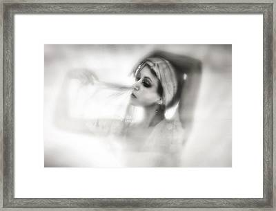 Shade Framed Print by Spokenin RED