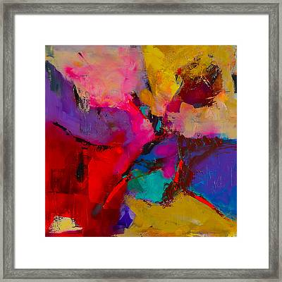Shades Of Colors - Art By Elise Palmigiani Framed Print by Elise Palmigiani