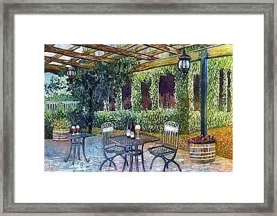 Shades Of Van Gogh Framed Print by Hailey E Herrera
