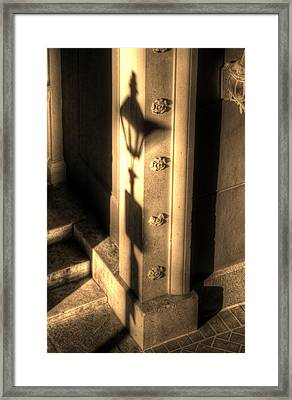 Shadow Of Light Framed Print by Greg and Chrystal Mimbs