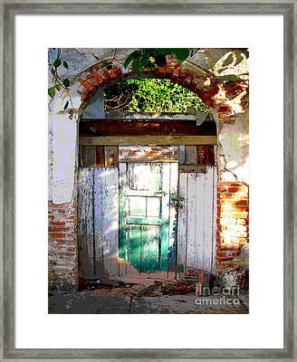 Shaft Of Sunlight By Darian Day Framed Print by Mexicolors Art Photography