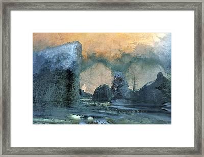 Shambala Framed Print by Ed Hall