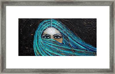 Shambala Framed Print by NARI - Mother Earth Spirit