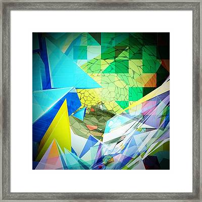 Shaoes Framed Print by Contemporary Art