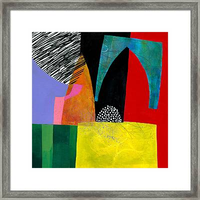Shapes 5 Framed Print by Jane Davies