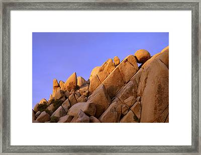 Shapes Framed Print by Chad Dutson