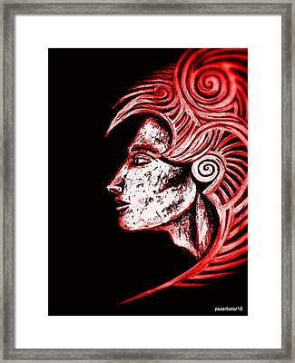 Shapes Framed Print by Paulo Zerbato