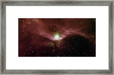 Sharpless 140 In The Constellation Cepheus Framed Print by American School