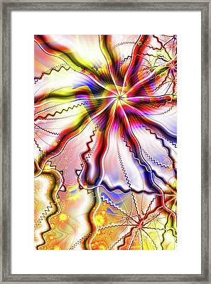 Shattered Minds Framed Print by John Edwards
