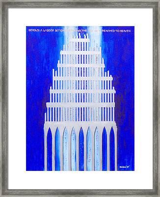 Shattered  Framed Print by Mordecai Colodner